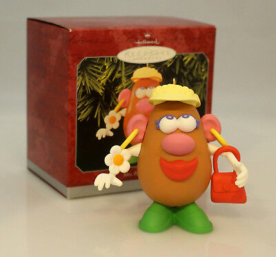 Hallmark Keepsake Ornament 1998 Mrs Potato Head - #QX6886