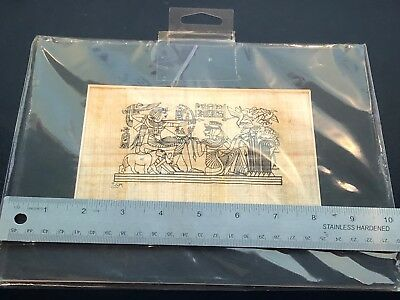 Genuine Papyrus Art Matted, made in Egypt