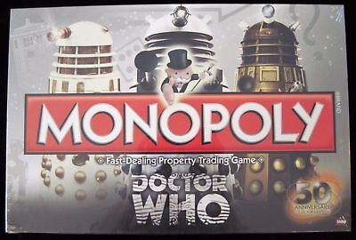 Monopoly Doctor Dr Who Collector S Edition Family Board Game Brand