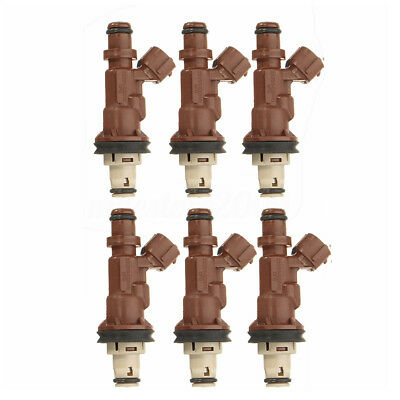 6x Fuel Injectors Fit For Toyota Tacoma Tundra 4Runner 3.4L V6 23250-62040