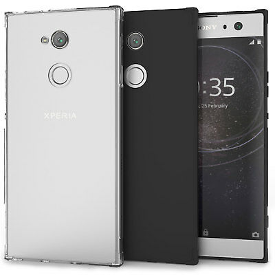 Sony Xperia XA2 Ultra Case, Crystal Clear Transparent TPU Silicone Gel Cover UK