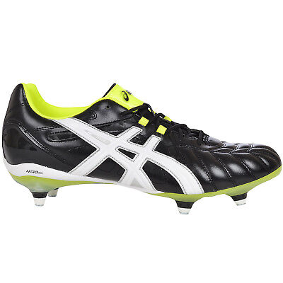 asics Mens Gel Lethal Tigreor 8 Stud Rugby Boots Cleats - Black