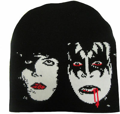KISS Dynasty BEANIE MÜTZE WOVEN SKI HAT OFFICIAL MERCHANDISE