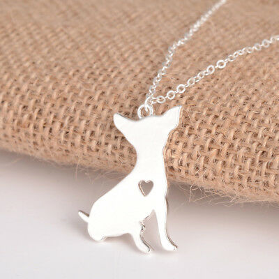 Chihuahua Sitting pendant necklace dog collectible No.65