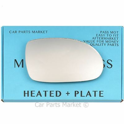 Hightecpl 242RS Right Driver Side Convex Door Wing Mirror Glass
