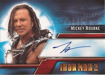"Iron Man 2 - A2 Mickey Rourke as ""Ivan 'Whiplash' Vanko"" Autograph Card"