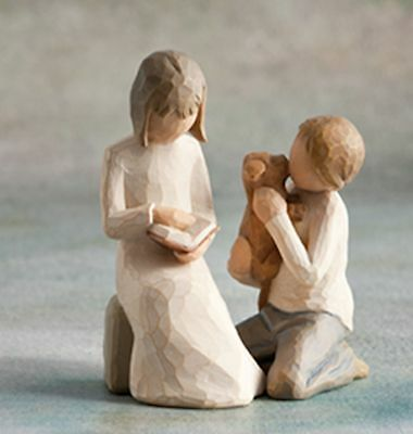 Willow Tree Siblings - Sister & Brother Figurine Gift Set Family Group
