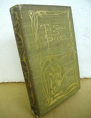 The Seven Seas by Rudyard Kipling 1896 Hardcover First Edition