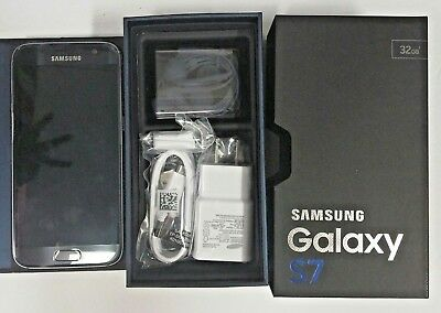 New In Box Samsung Galaxy S7 SM-G930V - 32GB - Black Onyx (Verizon) Smartphone