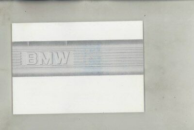 1987 BMW US 528 528e 535 535is M5 MINT ORIGINAL Owner's Manual wy9957