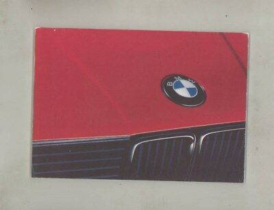 1990 BMW US 325 325i 325iS 325iX MINT ORIGINAL Owner's Manual wy9965