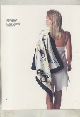 1997 BMW US Ladies Lifestyle Collection Clothing Luggage Scarves Brochure wy9948