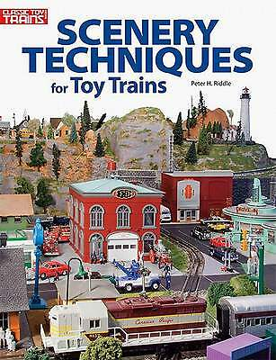 Kalmbach Book Scenery Techniques For Toy Trains