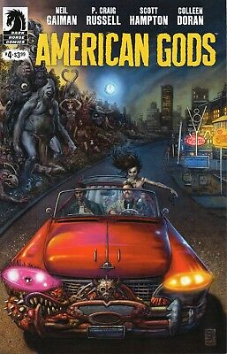 American Gods Shadows #4 (NM)`17 Gaiman/ Russell/ Hampton (Cover A)
