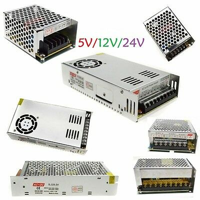 AC110V-240V 1A-5A-10A-33A Switching Power Supply Adapter DC 5V/12V/24V LED Strip