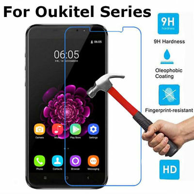 Ultra Slim Front Tempered Glass Screen Protector Cover Film For Oukitel Series