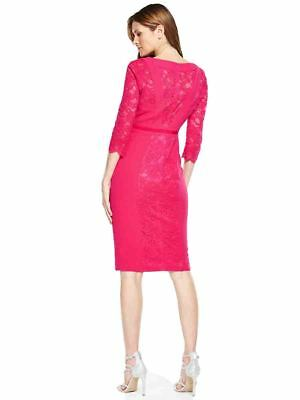 V by Very Lace Panel Pencil Dress