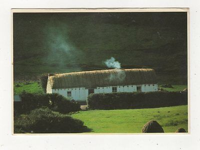 An Irish Cottage Ireland 1985 Postcard 885a
