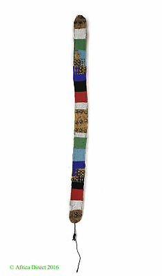 Zulu Beaded Belt Izingcu South African Art