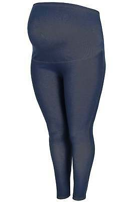 Women's Plus Size Bump It Up Maternity Indigo Jeggings With Comfort Panel