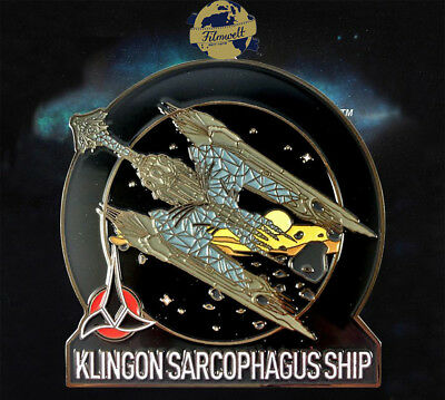 Klingon Sarkophag Schiff Pin Star Trek Discovery - exklusive Collectors Edtion