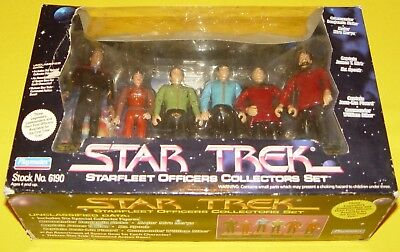 Star Trek Exclusive Classic, TNG & DS9 - Officers Collector Set #EX06190