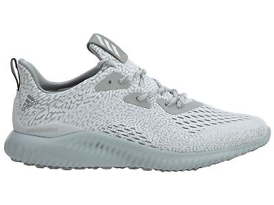 e93693c37648a Adidas Alphabounce AMS Mens BW0427 Clear Grey Forged Mesh Running Shoes Size  11