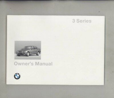 1997 BMW US 318 318i 318is 328 328i 328is MINT ORIGINAL Owner's Manual wy9979