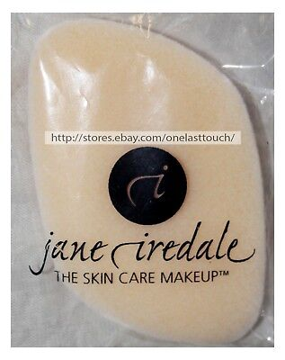 JANE IREDALE Skin Care Makeup FACE SPONGE Applicator For Foundation+Powder 1a