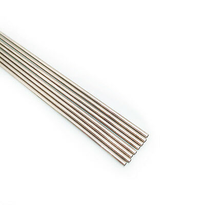 US Stock 8pcs OD 2mm ID 1.7mm Length 250mm 304 Stainless Steel Capillary Tube