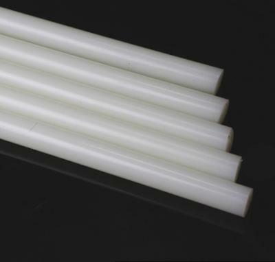"US Stock 6pcs 15mm Diameter 13"" Long PA6 Nylon Round Rod Stick Bar Stock White"