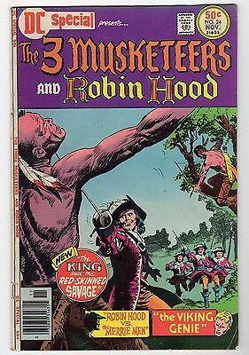 DC Special #24 Presents The 3 Musketeers and Robin Hood - 1976 - VG