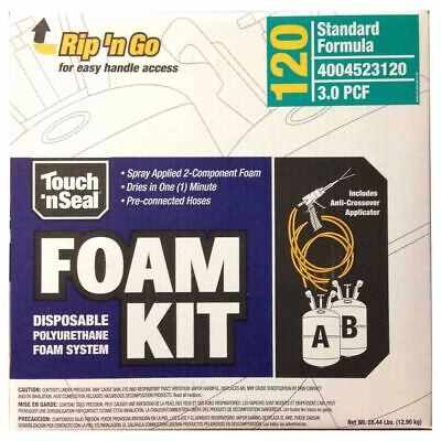 Touch n' Seal Spray Foam Roof Insulation Kit 3.0 PCF Closed Cell Foam - 120 BF