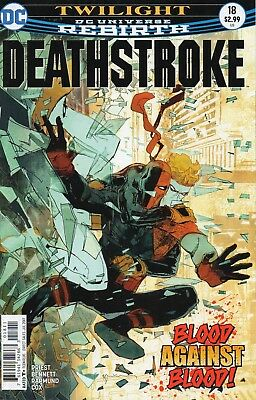Deathstroke #18 (NM)`17 Priest/ Bennett  (Cover A)