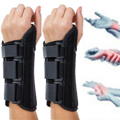 Carpal Tunnel Thumb Hand Wrist Brace Support Arthritis Compression Sleeve Band