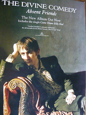 THE DIVINE COMEDY - MAGAZINE CUTTING (FULL PAGE ADVERT) (REF z10)