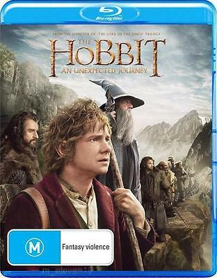 THE HOBBIT 1: An Unexpected Journey : NEW Blu-Ray
