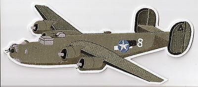 B24 BOMBER Aircraft Airplane Aviation Collectable Military Patch Jacket Size