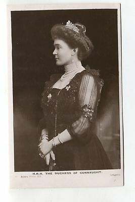 The Duchess of Connaught - old British royalty real photo postcard