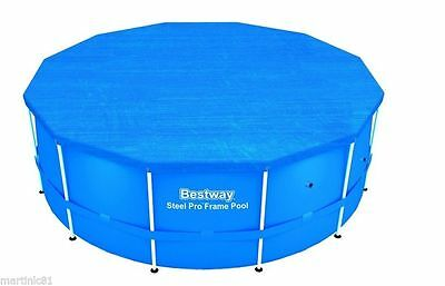 New Bestway Steel Frame Paddling Swimming Pool Cover Protectors - All Sizes