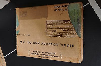 Vintage 1950 SEARS Spring / Summer Greensboro Catalog with mailer cover 1186 p.