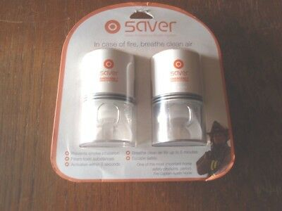Saver Emergency Breathing System portable Fire Safety-2 Person Set-Exp.2021