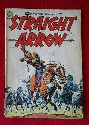 ME Golden Age Comic STRAIGHT ARROW 1 First Issue 1950 Western ULTRA RARE