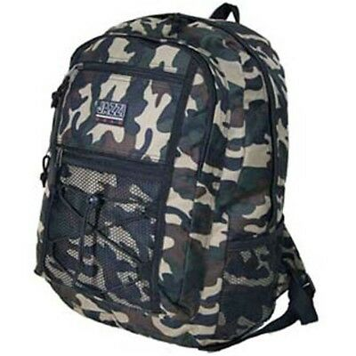 Camo Camouflage Backpack Rucksack Daypack School Bag Day Pack