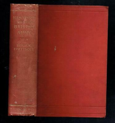 Fortescue; A History of the British Army Volume II. Macmillan 1899 Fair
