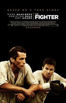 Fighter - original DS movie poster - 27x40 D/S - Wahlberg , Bale - 2010