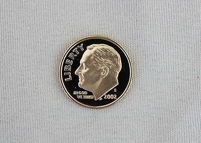 2002-S Roosevelt Clad Proof Dime Cameo