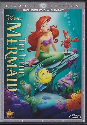 The Little Mermaid (DVD/Blu-ray, 2013, 2-Disc set, Diamond Edition)