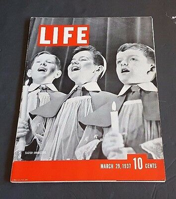 March 29, 1937 LIFE Magazine Balkan Terrorists FREE SHIPPING Old advertising 3