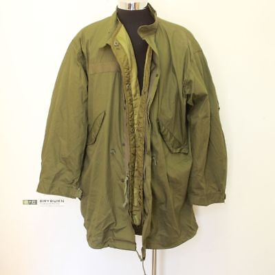 US Army M65 Fishtail Parka with Liner -Size Large-Genuine US Issue (Not repro)